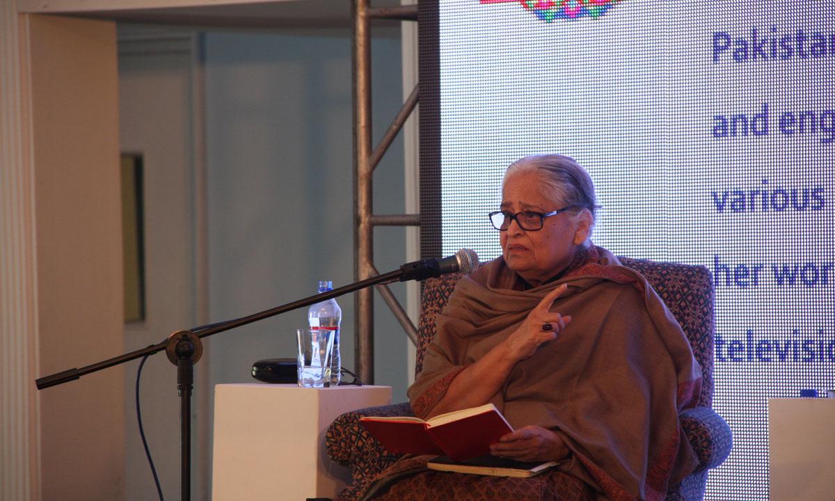 Zehra Nigah. – Photo by Aliraza Khatri