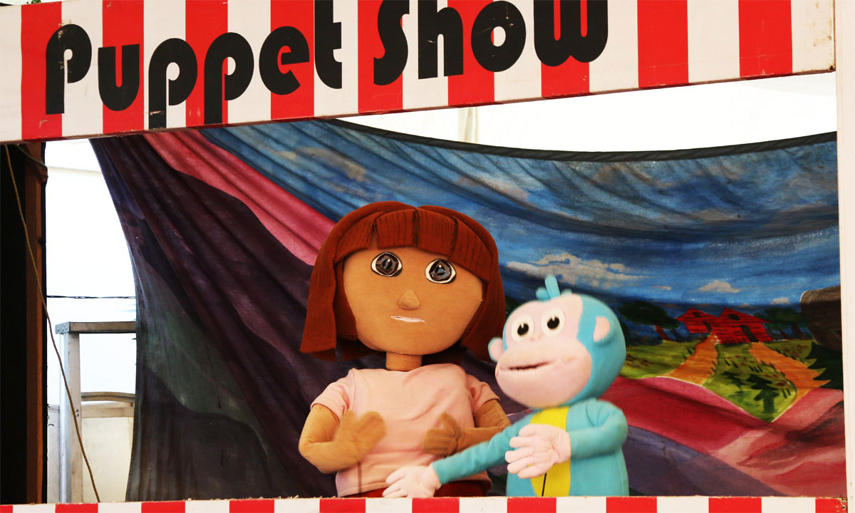 A show on Dora by Ritz Threatre. –Photo by Kurt Menezes