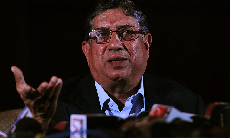 """""""Corporate governance is a very important factor. You can't have tainted people to run international cricket."""" -Photo by AFP"""