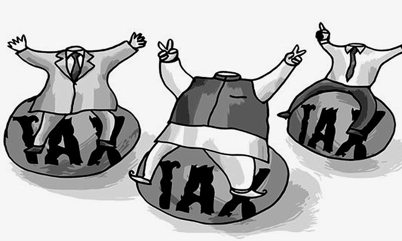 جدید ریاستی نظام میں ٹیکسوں کی وصولی ریاست کی اولین ذمہ داری اور فرائض میں شامل ہے