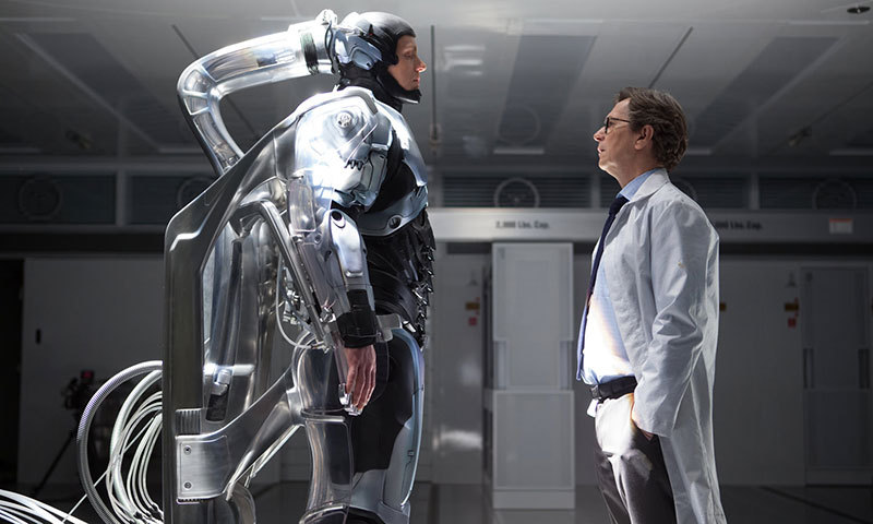 "A scene from movie, ""RoboCop"". - Courtesy Photo"
