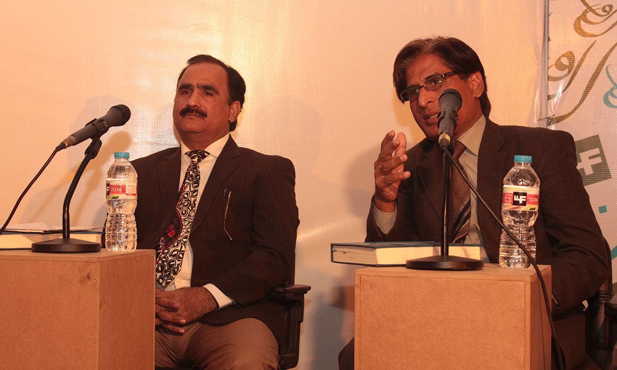Dr Tariq Hashmi (L) and Dr Mohammad Asif Awan. – Photo by Hamza Cheema