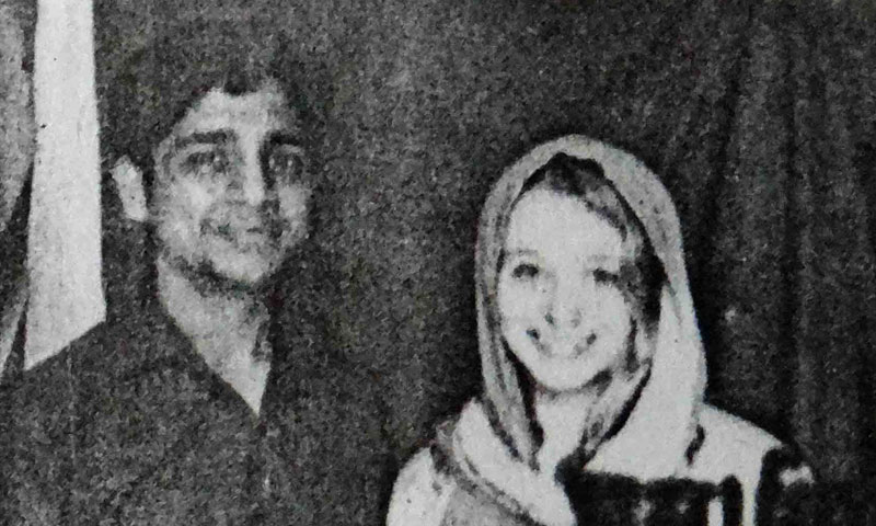 This undated photo provided by local police, shows Indian man Bunty Sharma and his American wife Erin W. Willinger in Agra, India. — Photo by AP