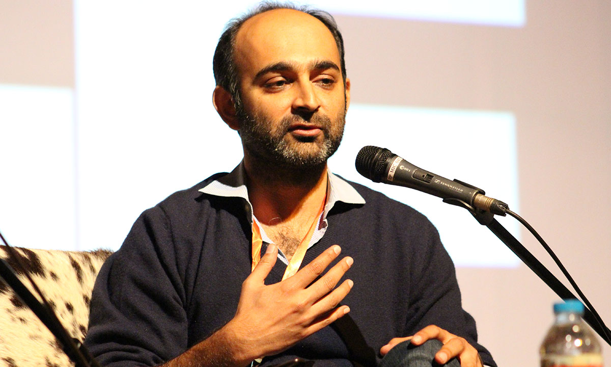 Mohsin Hamid. – Photo by Mahjabeen Mankani