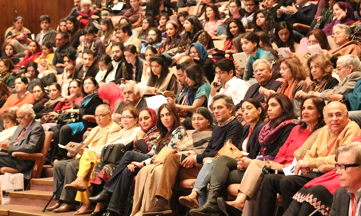 Visitors attending the session. – Photo by Mahjabeen Mankani