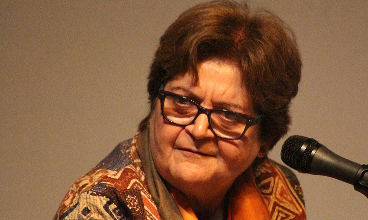 Salima Hashmi. – Photo by Hamza Cheema