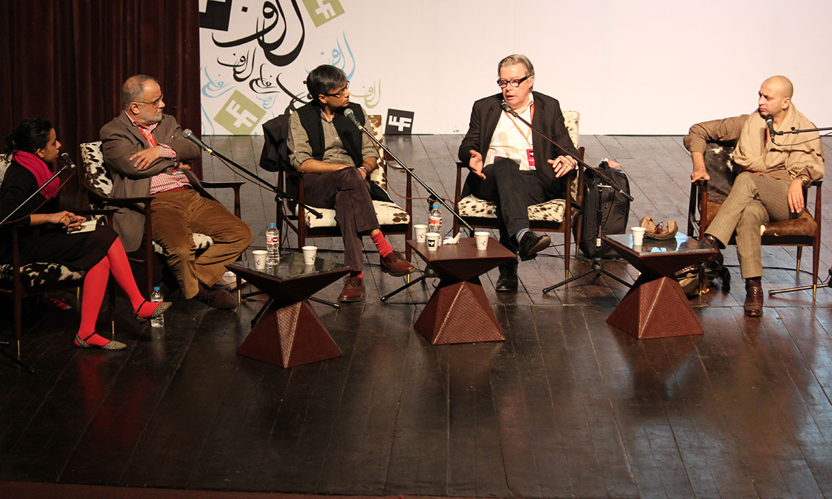 Panelists from the session. – Photo by Asif Umar