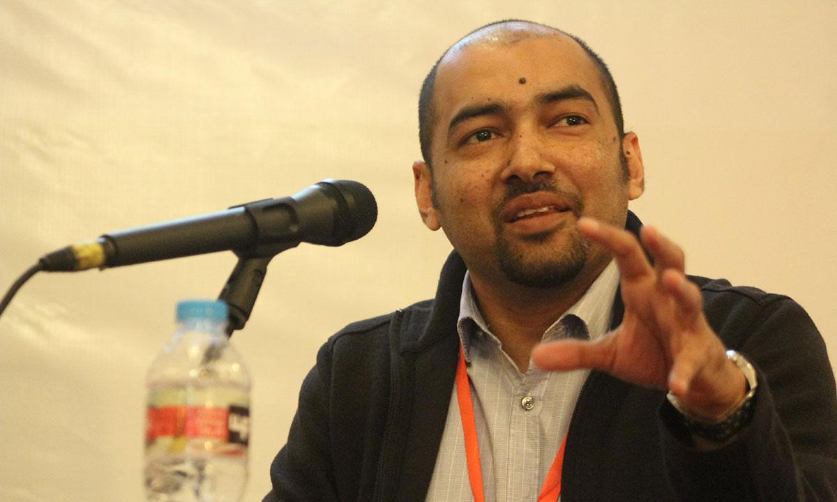 Author, K. Anis Ahmed. – Photo by Hamza Cheema