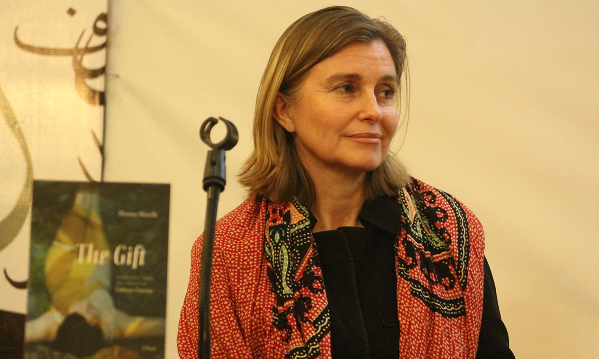 French author and journalist, Florence Noiville. – Photo by Hamza Cheema