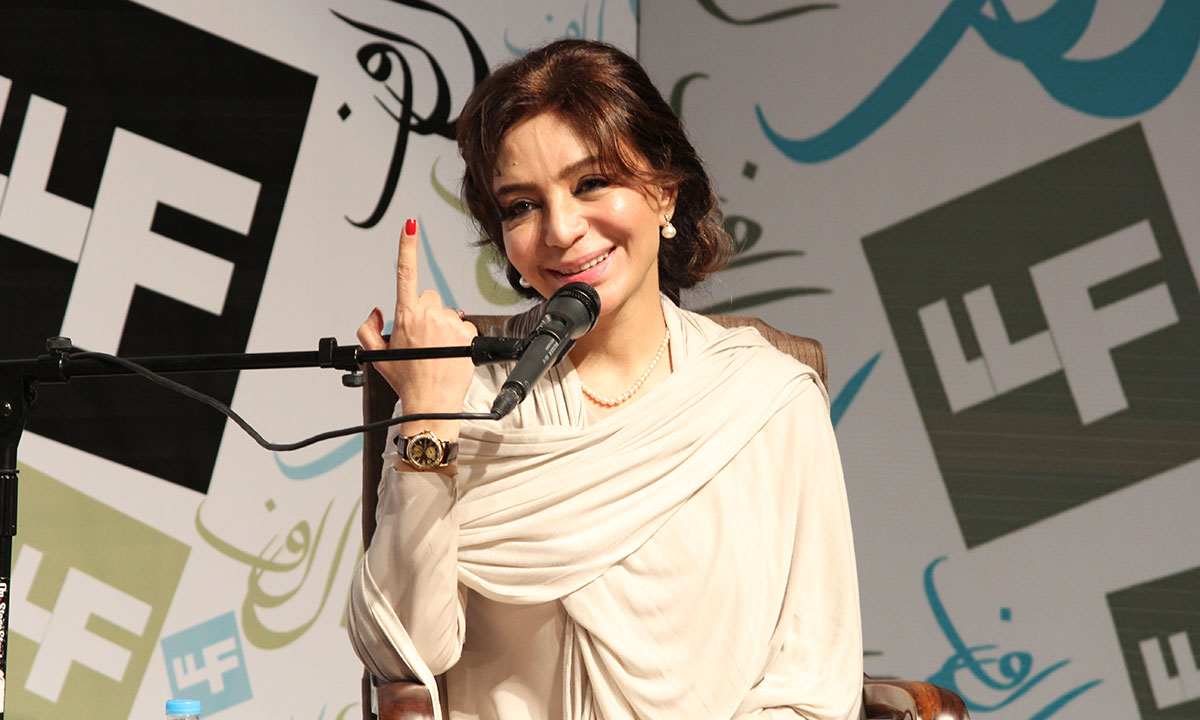 Tehmina Durrani. – Photo by Asif Umar