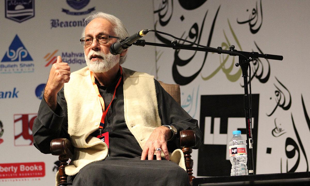 Rashed Rehman. – Photo by Mahjabeen Mankani