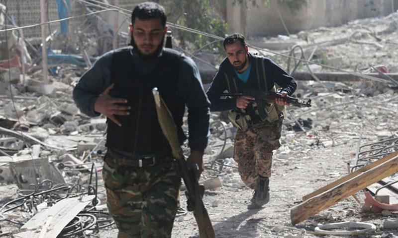 Saudis 'seek Pakistani arms for Syrian rebels'