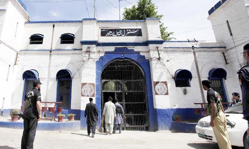 Sources have confirmed that a group of five suicide bombers with an explosive-laden Toyota Corolla Car were dispatched to Peshawar to target Central Jail Peshawar in order to free Taliban inmates held in captivity.     — File photo