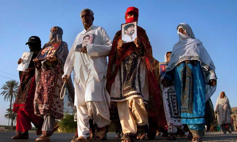 Baloch marchers reach near Rawalpindi