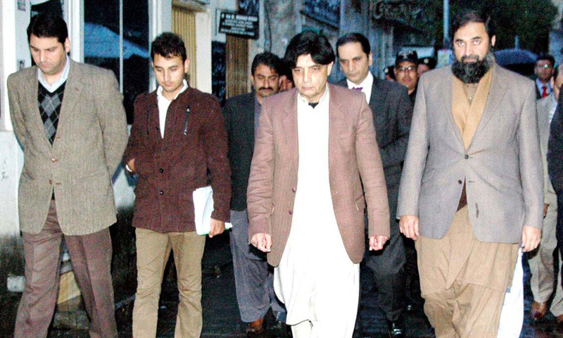 Nisar vows to track down terrorists amid criticism in NA