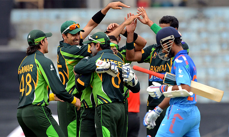 Pakistan pulled off a stunning one-wicket win over India in their crucial Asia Cup encounter on Sunday. -Photo by AFP