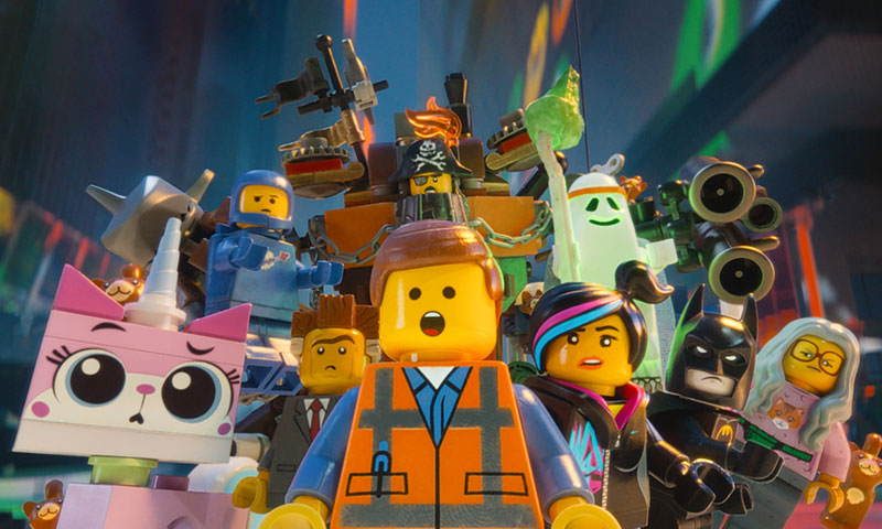 "A scene from movie, ""The Lego Movie"". – Courtesy Photo"