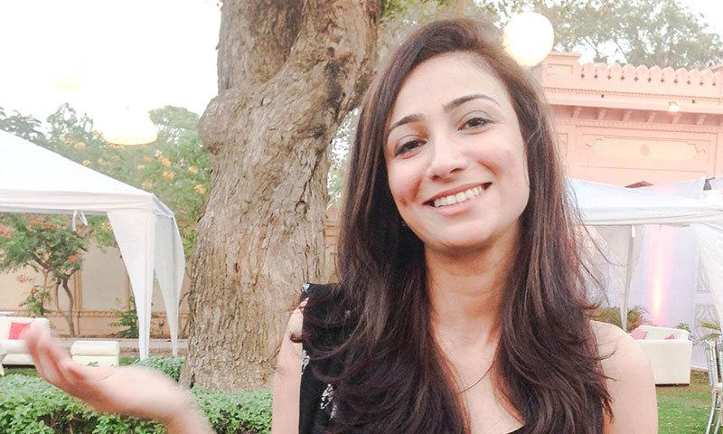 TV host Anoushey Ashraf.  —Photo by Madeeha Syed