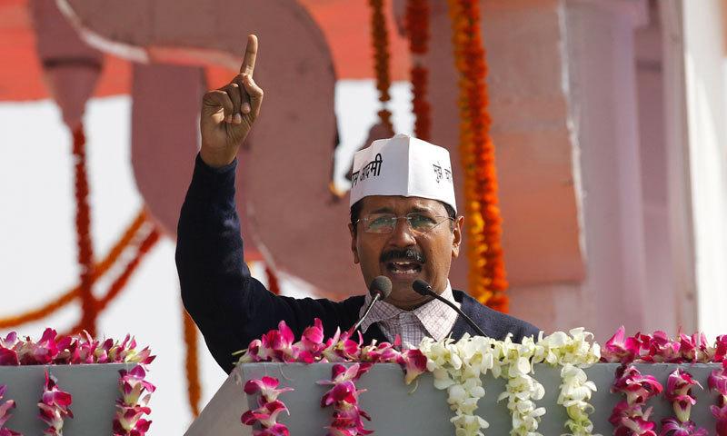 Arvind Kejriwal, head of the Aam Aadmi party. — File photo