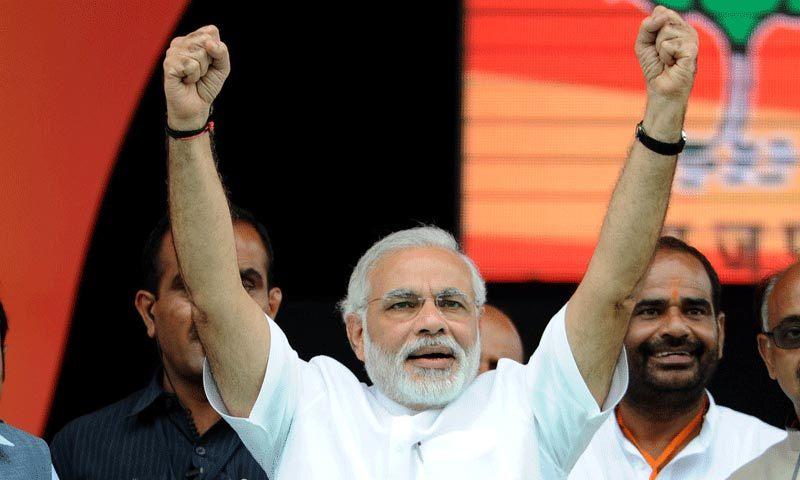 Opposition leader Narendra Modi. — File photo