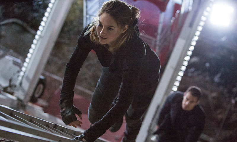 "A scene from movie, ""Divergent"". – Courtesy Photo"