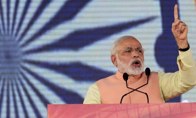 Modi says animal slaughter will 'ruin' nation