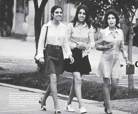 Afghan women walk down a shopping street in Kabul in 1972 (Picture Courtesy LIFE).