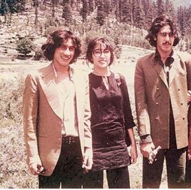 Shahnawaz, Benazir and Murtaza (1975).