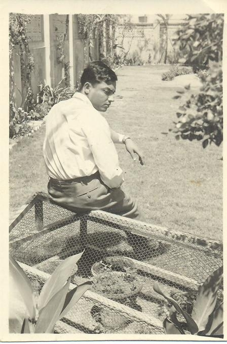 My father at our house in Karachi in 1967. He passed away in 2009.