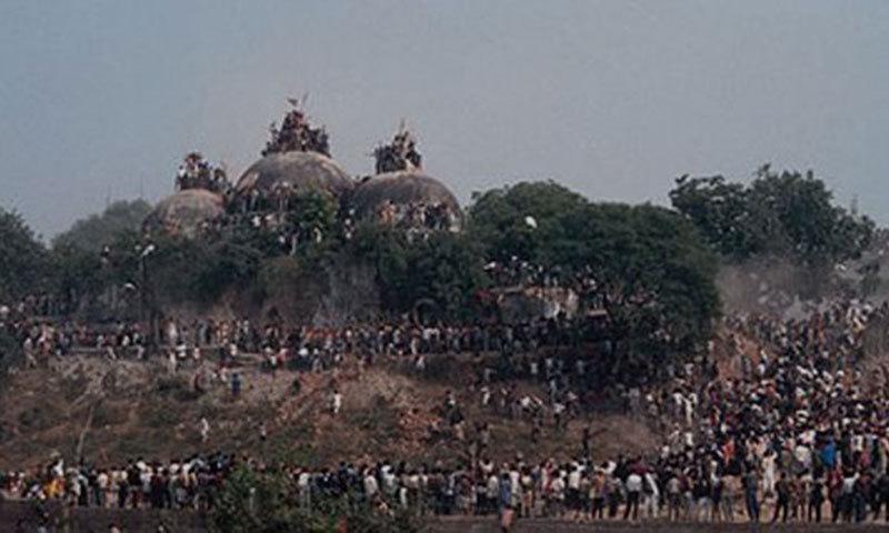 Babri mosque demolition was 'planned'