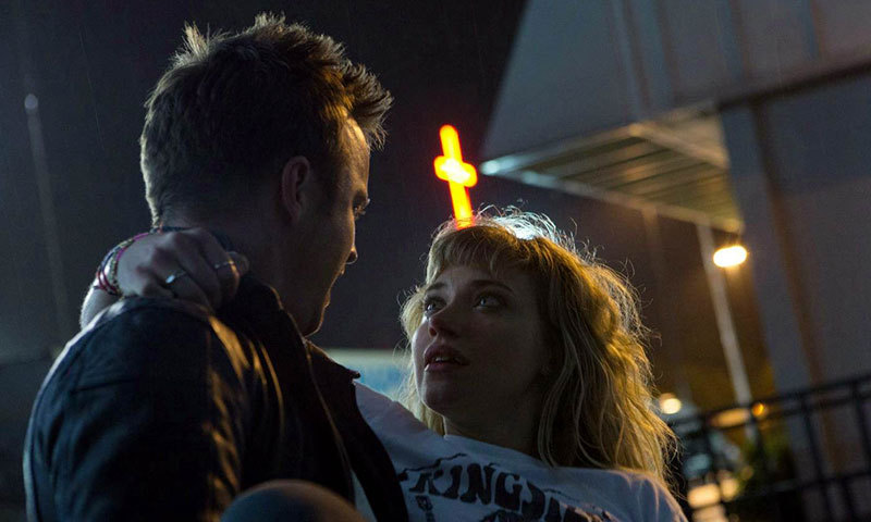 """A scene from movie, """"Need for Speed"""". – Courtesy Photo"""