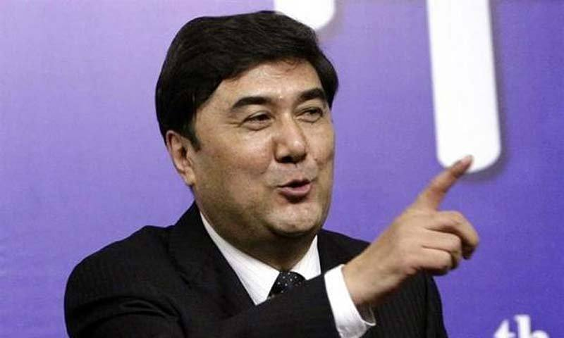 The governor of China's Xinjiang region. — Photo by Reuters