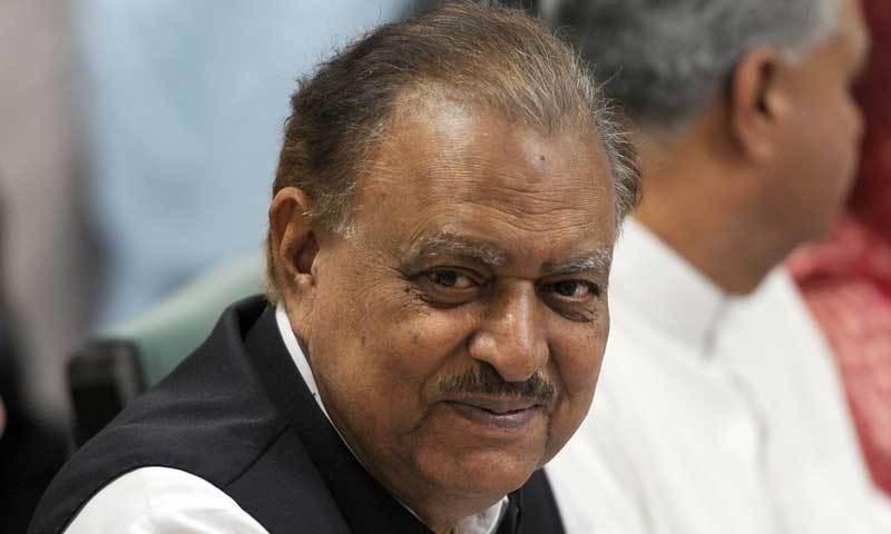 President Mamnoon Hussain. — File photo