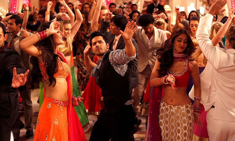 "A scene from movie, ""Main Tera Hero"". – Courtesy Photo"
