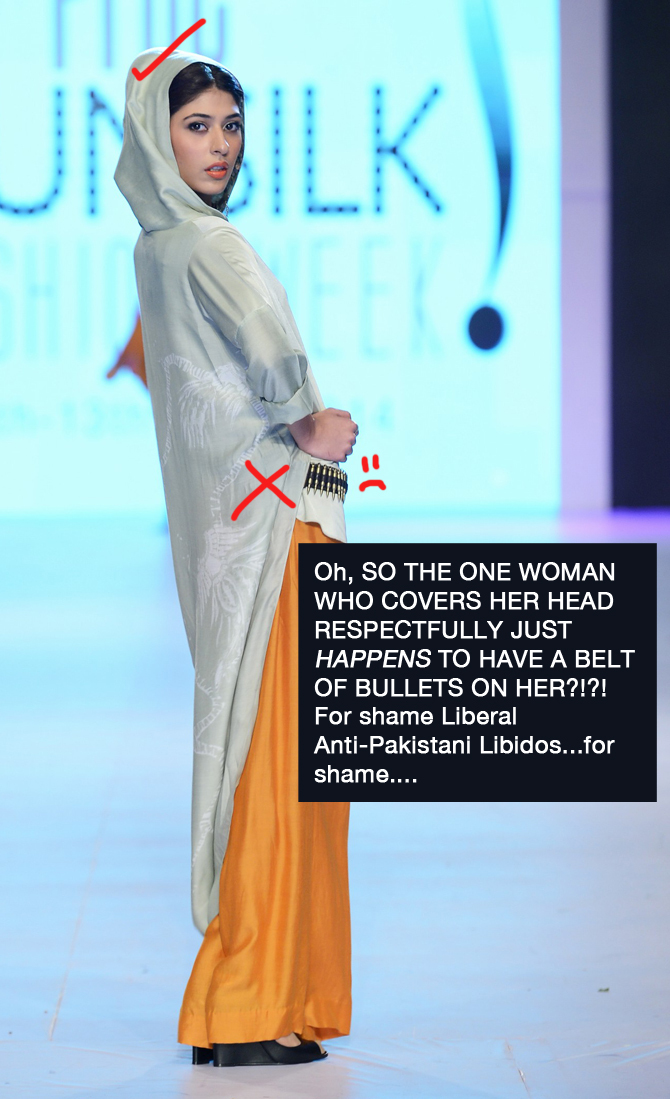 809842e8d7 It is now up to all true patriots to save Pakistan by demanding a complete  ban of fashion shows. If that fails
