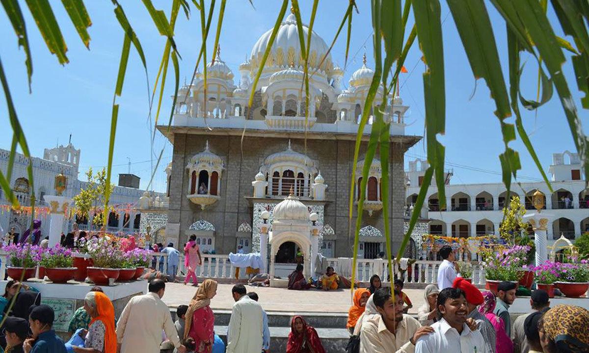 Thousands of Sikhs from Pakistan and abroad gathered Punjab Sahib to celebrate Besakhi festival.