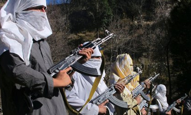 A pamphlet, attributed to banned Lashkar-i-Islam was distributed in Manzoor Colony threatening locals to vacate the area in 10 days. – File Photo