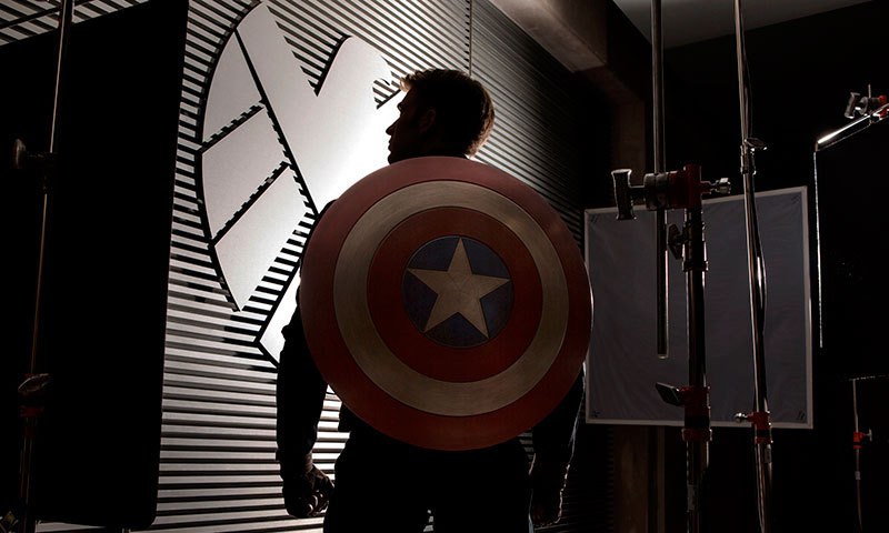 "A scene from movie, ""Captain America: The Winter Soldier"". –Courtesy Photo"