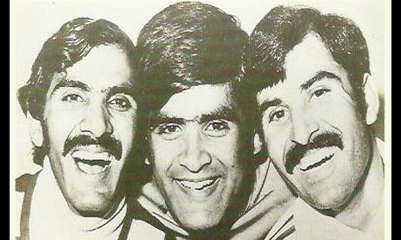 The 'Three Musketeers': Gogi Alauddin, Sajjad Muneer and Hiddy Jahan