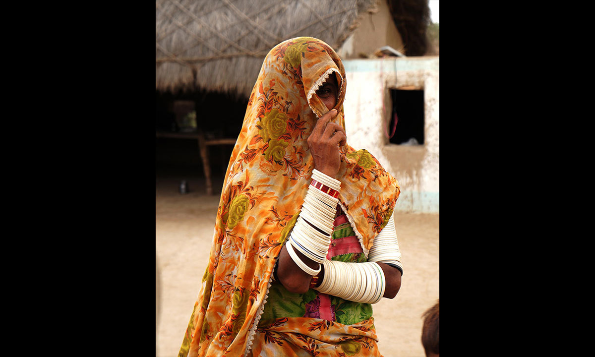 Koli woman in Tharparkar, Sindh. – Photo by Emmanuel Guddu
