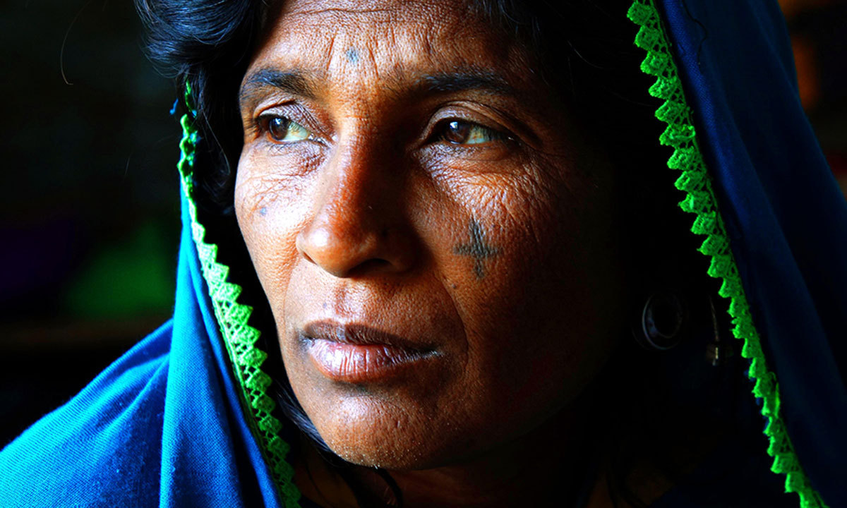A Kutchi Koli woman in Shahdadpur, Sindh. – Photo by Emmanuel Guddu