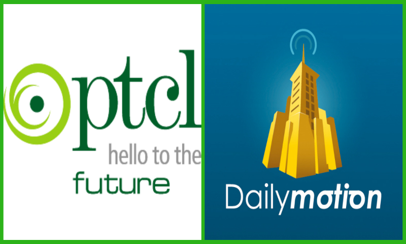 The joint venture will offer improved viewing experience to PTCL customers, coupled with filtration of objectionable content. – Logos of PTCL and Dailymotion