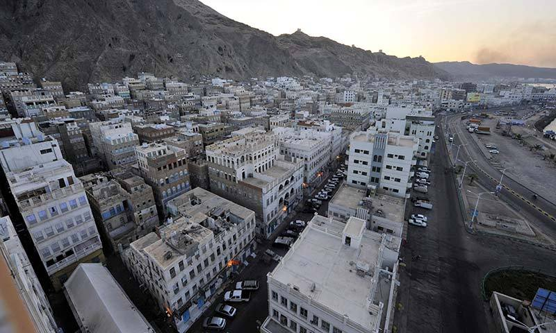 A general view shows the southeastern Yemen city of Mukalla. -Photo by AFP
