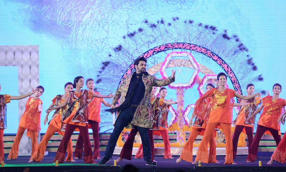 Hhumayun Saeed's performance at the awards