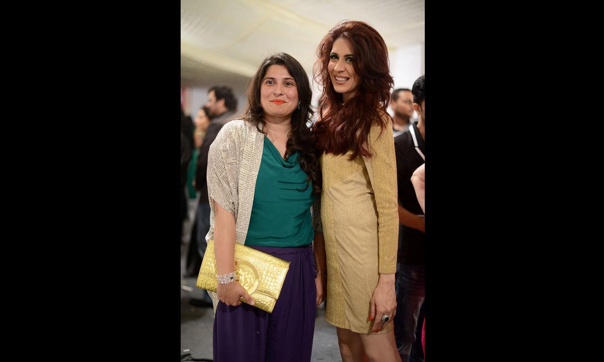 Sharmeen Obaid with Sabina Pasha
