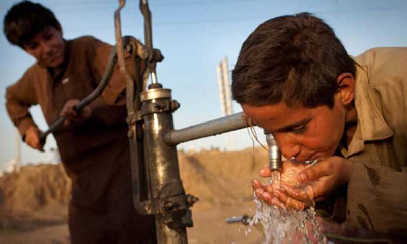 Insufficient water storage capacity has greatly impacted the availability of water, said the Jinnah Institute report. -File Photo