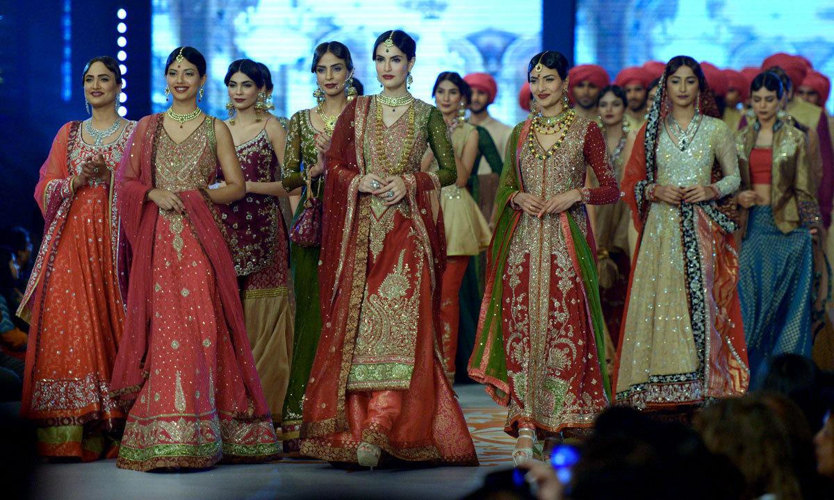 Bridal Couture Week In Karachi Multimedia Dawn Com