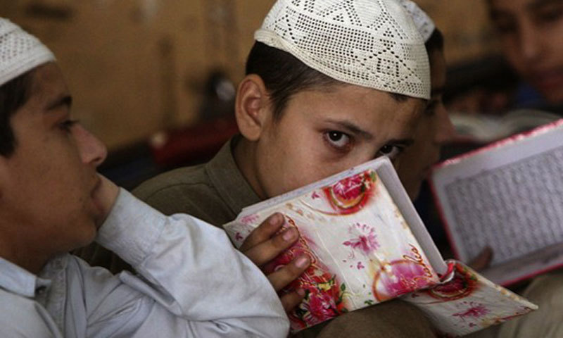 The Lahskar-i-Islam has warned tribesmen in Bara to admit at least one son to their madrassa before Eid-ul-Fitr. – File Photo