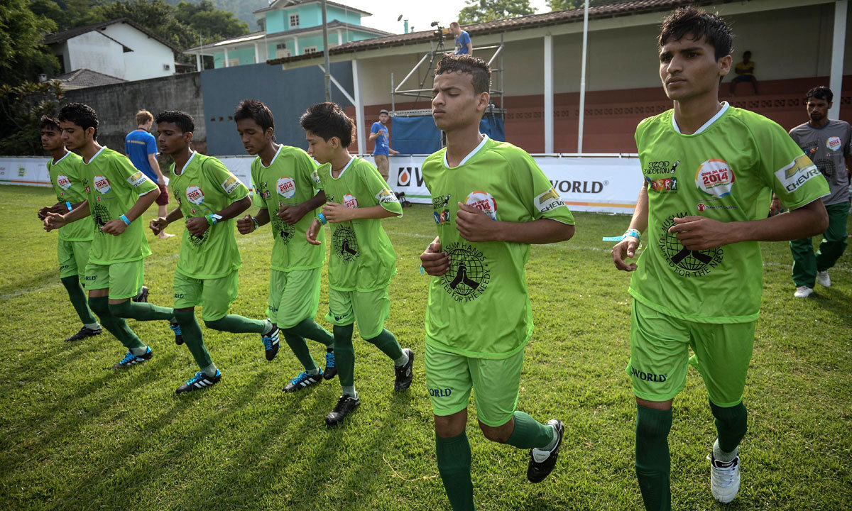 Muslim Hands in collaboration with Azad Foundation will send a few players of the team to England to groom the young talent. – File Photo