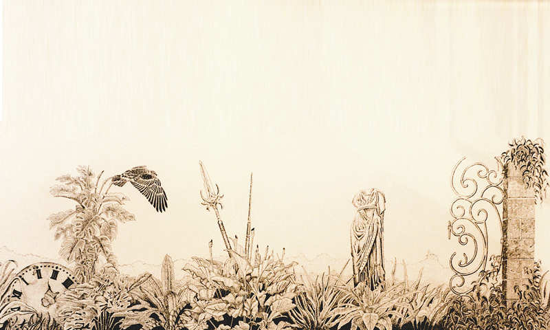 Athena's Garden by Henri Souffay. Photos: White Star